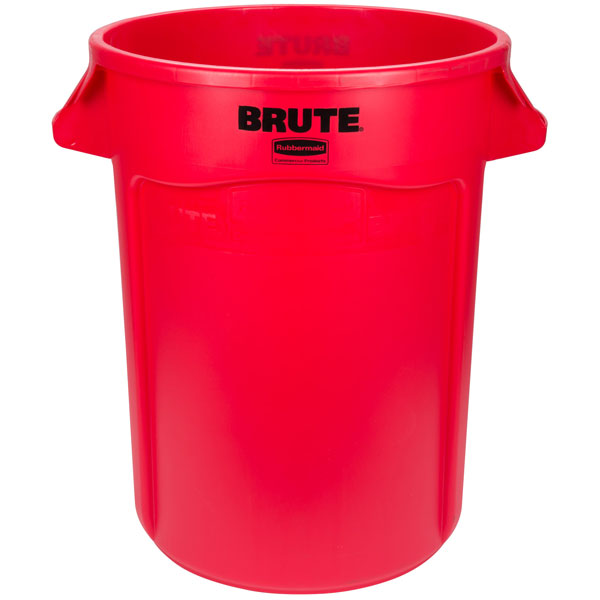 BRUTE 166.5L (44 Gal) Vented Round Container & Accessories - FG2643