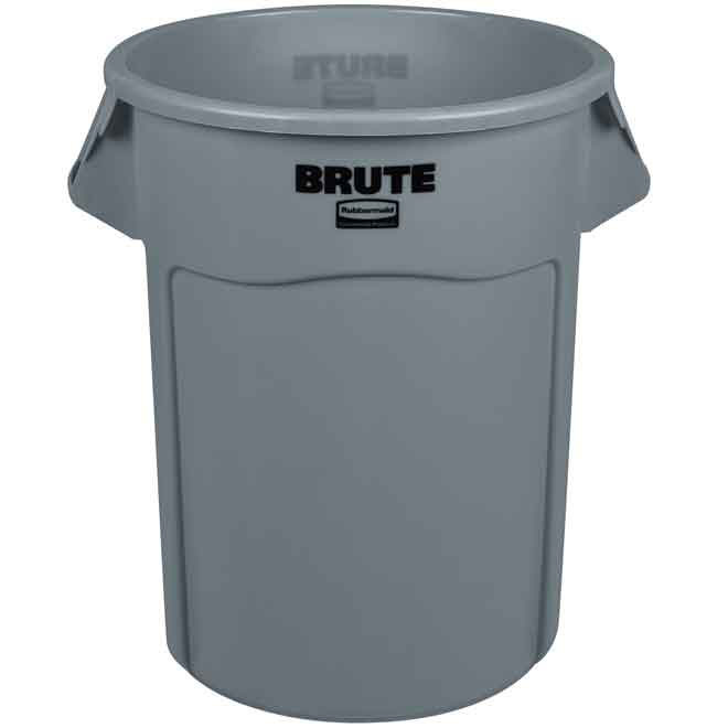 BRUTE 208.2L (55 Gal) Vented Round Containers & Accessories - FG2655