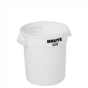Non-Vented BRUTE Round Containers & Accessories