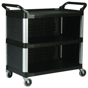 Utility Cart with Enclosed Panels on 3 Sides - FG4093