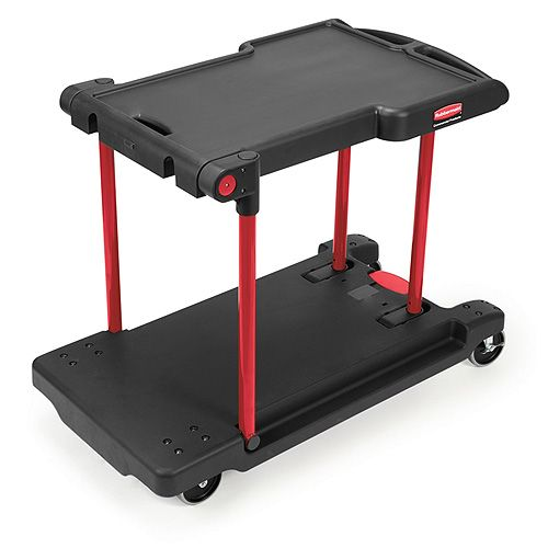 Rubbermaid Convertible Utility Cart Converts to Platform Trolley